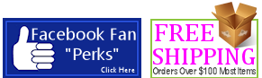 Free Shipping & Facebook Fan Discounts