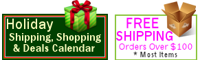 Holiday Shipping, Shopping & Deals Calendar 2014