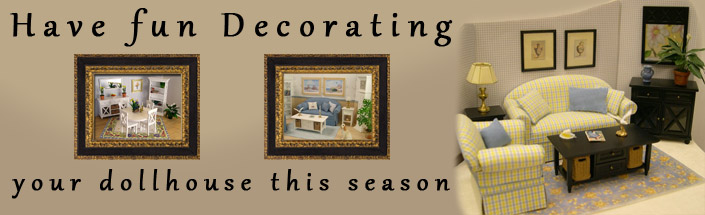 Decorate Your Dollhouse