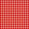 1/2 in Scale Wallpaper - Red Gingham - 6 Pc