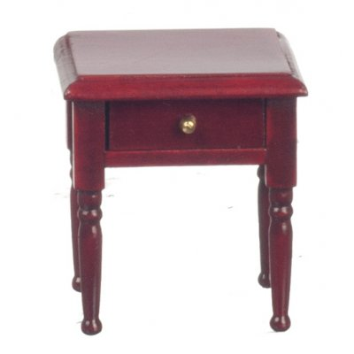 1 Drawer Nightstand - Mahogany