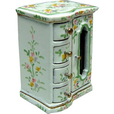 Flower Patterned Jewelry Chest