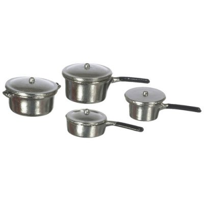4pc Aluminum Cookware Set