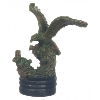 Bronze Eagle Figurine