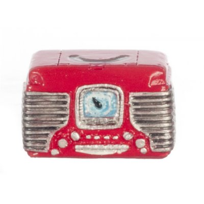 Radio Retro - Red