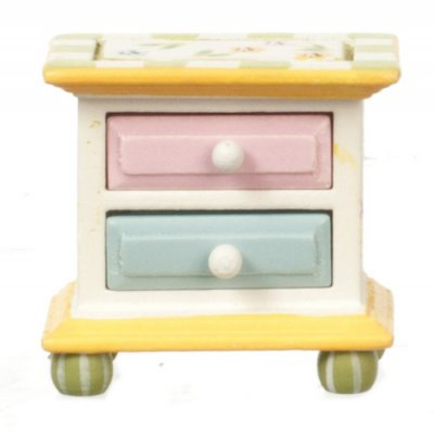 Pastel 2 Drawer Nightstand