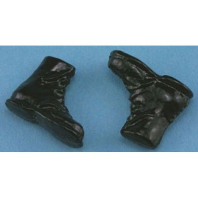 black hiking boots mary s dollhouse miniatures 15794 | 16bbc50c707dd431d68593817407d88c image 400x400
