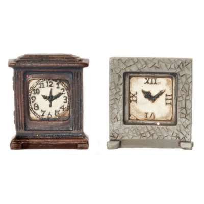 Box Clocks 2pc