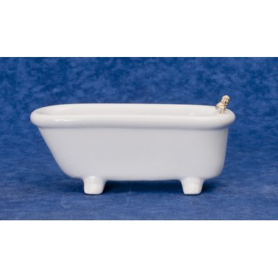 White Porcelain Footed Bathtub