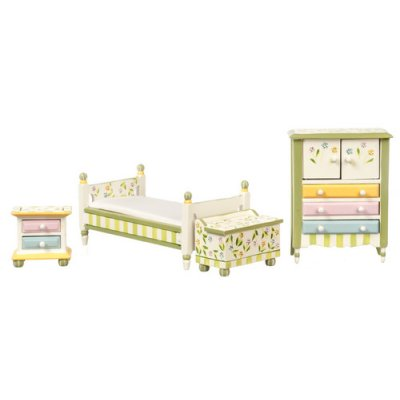Springtime Bedroom Set 4pc