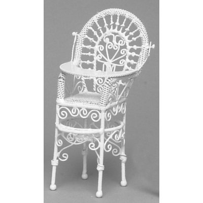 Child's High Chair - White