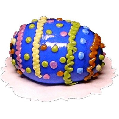 Easter Egg Decorated Cake