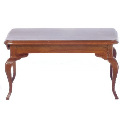 Queen Anne Dining Table Rectangular - Walnut