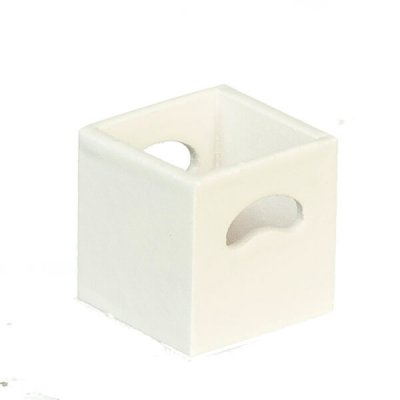 Cubic Shelf Unit Cubby Bin  - White