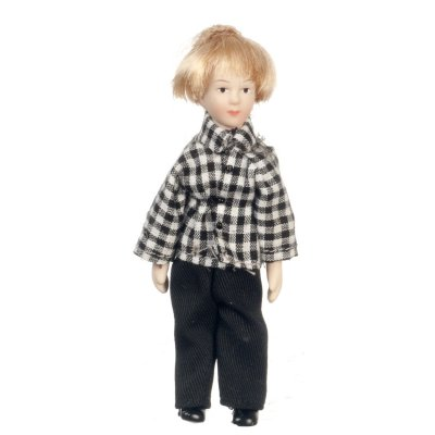 Modern Boy Porcelain Doll