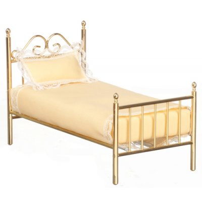Brass Single Bed