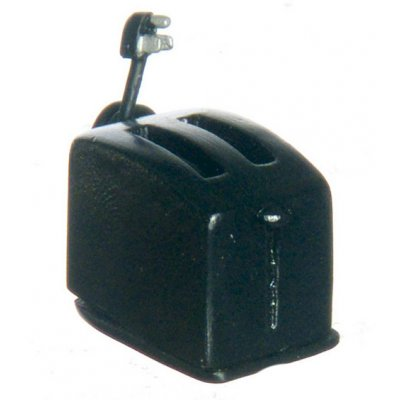 Toaster Black 2pc