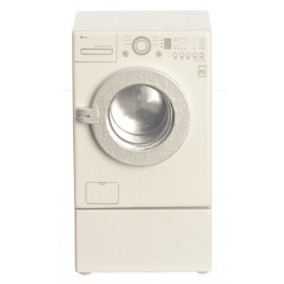 Modern Front Loading Washer w/ Riser