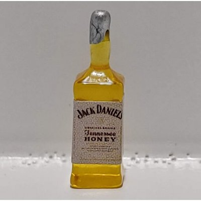 1/2in Scale Bottle of JD Honey Tennessee Whiskey