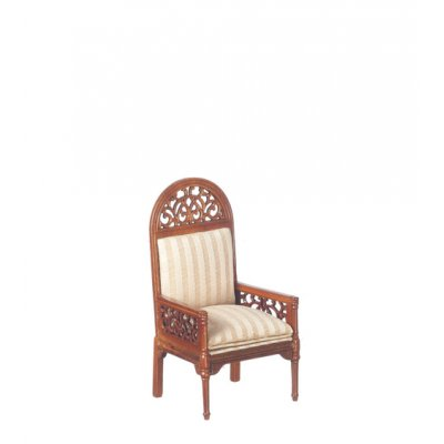 Upolstered Settee - Walnut