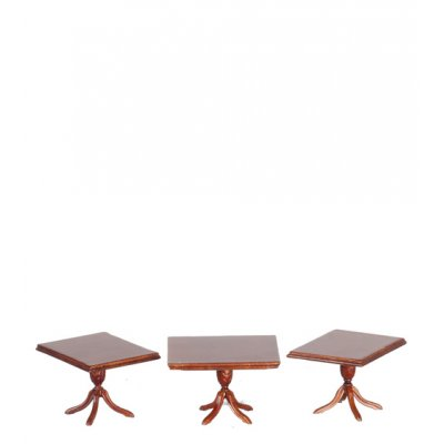 1/2in Scale Extension Table 3pc - Walnut