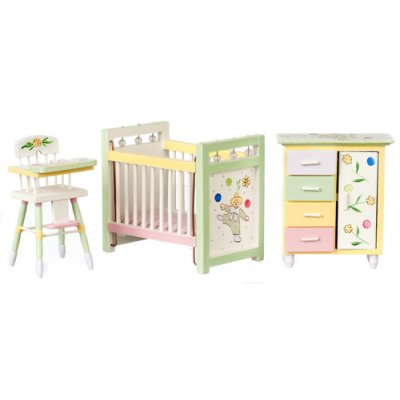 Nursery Set - Hand Painted 3pc