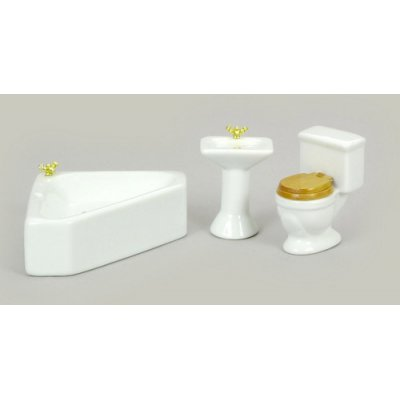 Corner Bath Set 3pc