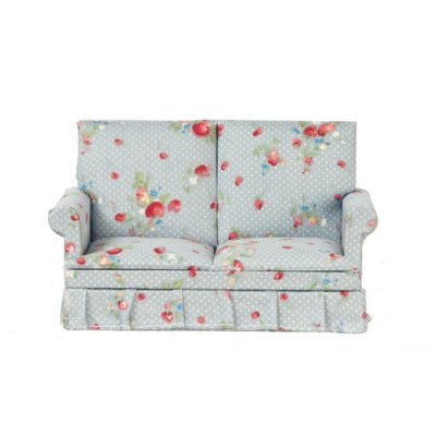 Blue Print Loveseat
