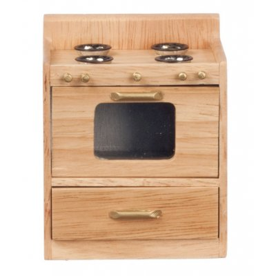 Kitchen Stove - Oak