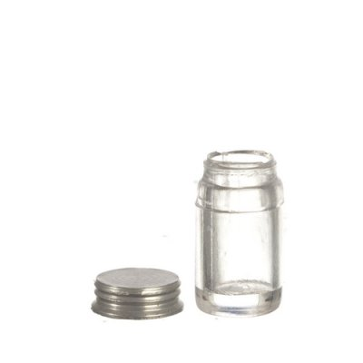 Canning Jars - Small - Clear - w/ Lid - Unlabeled 12pc