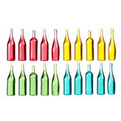 Assorted Bottles 20pc