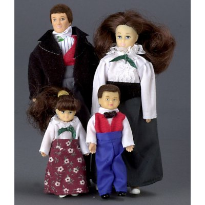 Victorian Doll Family