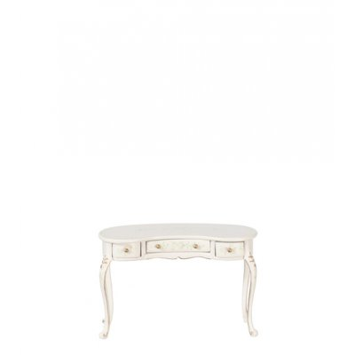 French Provincial Dressing Table - White