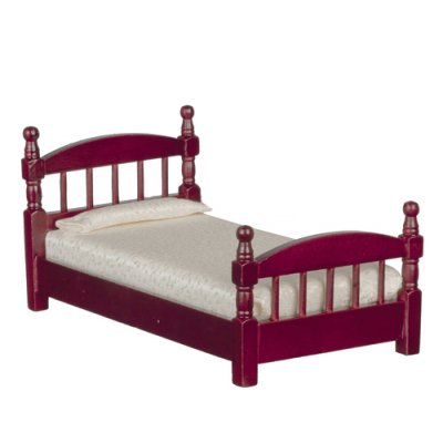 Twin Bed - Mahogany