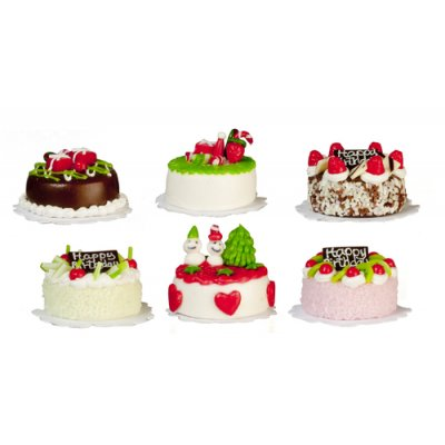 Cakes - Assorted - 6pc