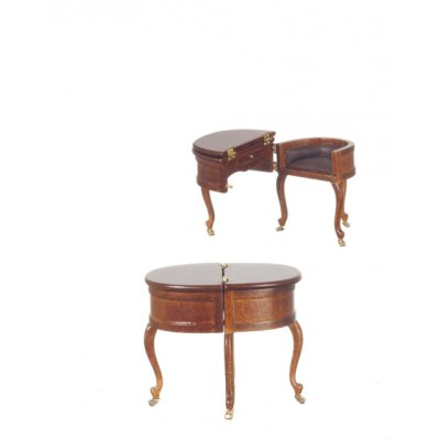 Aaron Burr Table Desk Circa 1854 - Walnut