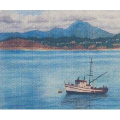 Bateau Painting on Canvas