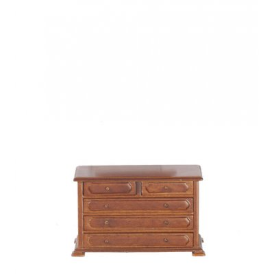 Country Style Dressing Table - Walnut