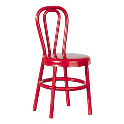 1/2in Scale Red Side Chair