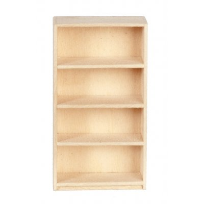 1/2in Scale Basswood Bookcase Discontinued