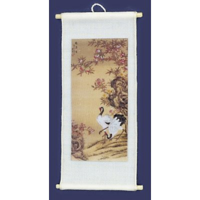 Chinese Silk Wall Hanging