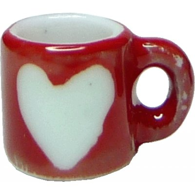 Valentine Heart Mug Red