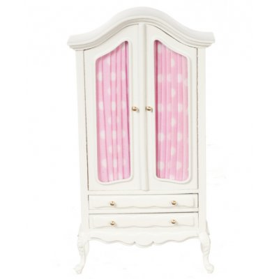 Armoire - Pink & White