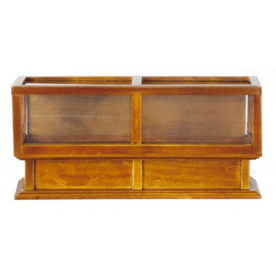 Store Display Case - Walnut
