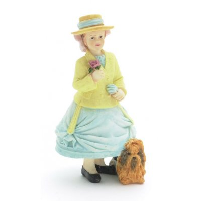 Daphne w/ Dog - Resin Doll
