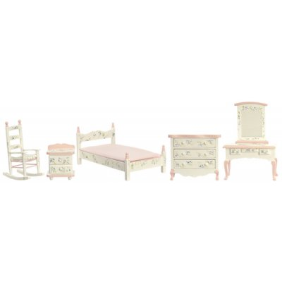 Pink Bedroom Set - 5pc