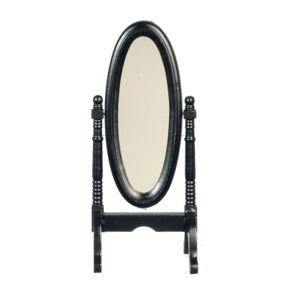 Cheval Dressing Mirror - Black