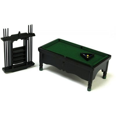 Pool Table Set - Black