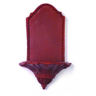 Brown Wall Sconce Shelf