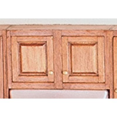 Assembled Double Upper 3in Base Kitchen Cabinet